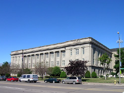 Douglas County Courthouse, a Building.