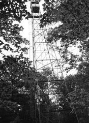 Fifield Fire Lookout Tower, a Structure.