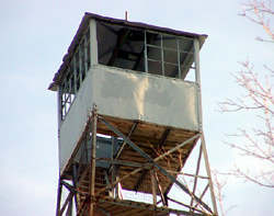 Mountain Fire Lookout Tower, a Structure.