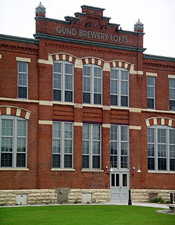 Gund Brewing Company Bottling Works, a Building.