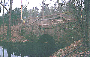 Wakely Road Bridge, a Structure.