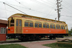 Sheboygan Light, Power and Railway Company Car #26, a Structure.