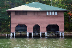 Yawkey, William H., Boathouse, a Building.