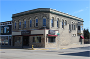99 S MAIN ST, a Queen Anne retail building, built in Fort Atkinson, Wisconsin in 1895.