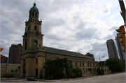 812 N JACKSON ST, a German Renaissance Revival church, built in Milwaukee, Wisconsin in 1847.