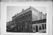 210-212 W WATER ST, a Italianate hotel/motel, built in Shullsburg, Wisconsin in 1855.
