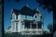 221 US HIGHWAY 14, a Queen Anne house, built in Rutland, Wisconsin in 1892.