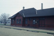N RAILROAD ST, a Other Vernacular depot, built in Kendall, Wisconsin in 1900.
