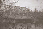 SMYTH RD OVER THE NORTH BRANCH OF THE OCONTO RIVER, a NA (unknown or not a building) overhead truss bridge, built in Lakewood, Wisconsin in 1928.