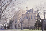 St. Mary's Catholic Church, a Building.