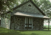 W SIDE OF COUNTY HIGHWAY I, .1 MI S OF FREDONIA-KOHLER RD, a Front Gabled, built in Fredonia, Wisconsin in 1847.