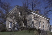 13615 N CEDARBURG RD, a Greek Revival house, built in Mequon, Wisconsin in 1848.
