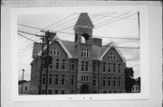 W63 N643 WASHINGTON AVE, a Richardsonian Romanesque elementary, middle, jr.high, or high, built in Cedarburg, Wisconsin in 1894.