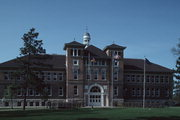 2100 MAIN ST, a Richardsonian Romanesque university or college building, built in Stevens Point, Wisconsin in 1894.
