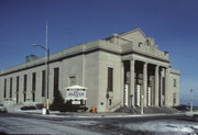 72 7TH ST, a Neoclassical meeting hall, built in Racine, Wisconsin in 1924.