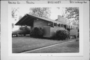801 LATHROP AVE, a Contemporary house, built in Racine, Wisconsin in 1949.