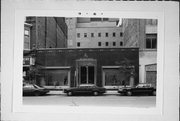 733 N MILWAUKEE ST, a Art Moderne retail building, built in Milwaukee, Wisconsin in 1939.