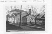 617 EMERSON ST, a Bungalow house, built in Madison, Wisconsin in 1923.