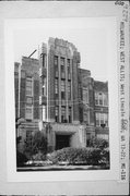 8500-8516 W LINCOLN AVE, a Art Deco elementary, middle, jr.high, or high, built in West Allis, Wisconsin in 1928.