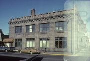 102 W 2ND ST N, a Neoclassical retail building, built in Ladysmith, Wisconsin in 1912.