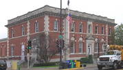315 N BRIDGE ST, a Neoclassical post office, built in Chippewa Falls, Wisconsin in 1908.