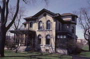608 NEW YORK AVE, a Italianate house, built in Sheboygan, Wisconsin in 1882.