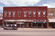 113-117 S MAIN ST, a Italianate retail building, built in Viroqua, Wisconsin in 1885.