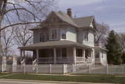 543 MADISON ST, a Queen Anne house, built in Lake Geneva, Wisconsin in 1893.