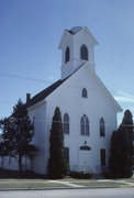 216 MAIN ST, a Gothic Revival church, built in Mukwonago (village), Wisconsin in 1879.