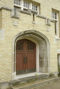 627 W COLLEGE AVE, a Collegiate Gothic dormitory, built in Waukesha, Wisconsin in 1914.