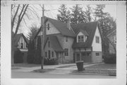 400 E LAKE ST, a Tudor Revival house, built in Waupaca, Wisconsin in 1915.