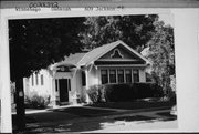 609 JACKSON ST, a Bungalow house, built in Oshkosh, Wisconsin in 1924.