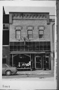 166 S CENTRAL AVE, a Italianate retail building, built in Marshfield, Wisconsin in 1891.