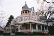 1520 COLLEGE AVE, a Queen Anne house, built in Racine, Wisconsin in 1894.