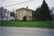 507 FOSTER ST, a Italianate house, built in Fort Atkinson, Wisconsin in 1876.