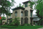 445 W CENTER ST, a Italianate house, built in Whitewater, Wisconsin in 1856.