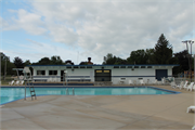 Burlington Community Swimming Pools and Bathhouse, a Building.