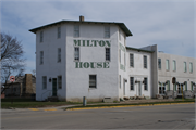 18 S JANESVILLE ST, a Octagon hotel/motel, built in Milton, Wisconsin in 1844.