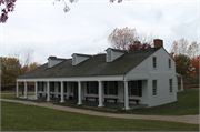 2640 S WEBSTER AVE (HERITAGE HILL STATE PARK), a Front Gabled hospital, built in Allouez, Wisconsin in 1816.