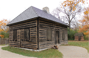 2640 S WEBSTER AVE (HERITAGE HILL STATE PARK), a One Story Cube house, built in Allouez, Wisconsin in 1810.