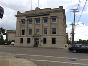 116 S COMMERCIAL ST, a Neoclassical meeting hall, built in Neenah, Wisconsin in 1909.