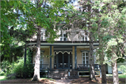 802 Clyman St., a Italianate house, built in Watertown, Wisconsin in 1855.