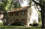 811 Orchard Street, a Colonial Revival house, built in Racine, Wisconsin in 1936.