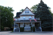 116-122 S MAIN ST, a Queen Anne house, built in Thiensville, Wisconsin in 1898.