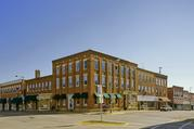 101 N MADISON ST, a Commercial Vernacular hotel/motel, built in Lancaster, Wisconsin in 1868.