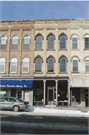 206-210 W MAIN ST, a Italianate retail building, built in Watertown, Wisconsin in 1855.