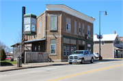 201-203 S MAIN ST, a Italianate bank/financial institution, built in Cuba City, Wisconsin in 1907.