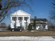 6409 NICHOLSON RD, a Greek Revival house, built in Caledonia, Wisconsin in 1853.