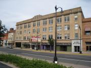 115-117-123 N 4TH ST, a Neoclassical large office building, built in La Crosse, Wisconsin in 1920.