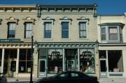 507 BROADWAY, a Italianate grocery, built in Sheboygan Falls, Wisconsin in 1878.